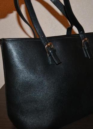 Черная сумка - шопер классика от edit (лимитированная серия)