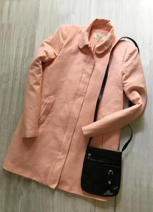 Красивое коттоновое пальто