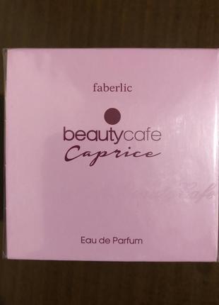 Парфюмерная вода для женщин beauty cafe caprice от faberlic