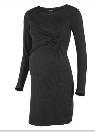 Платье с узлом для беременных esmara органический хлопок