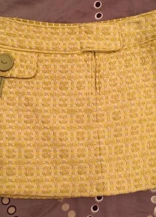 Шикарная итальянская мини-юбка