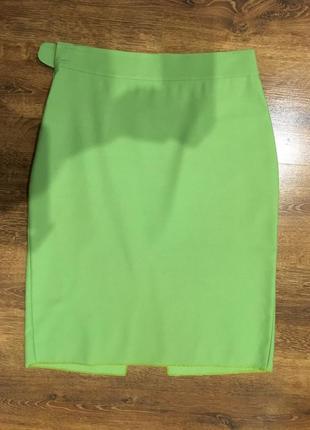 Легкая классическая юбка высокой посадки