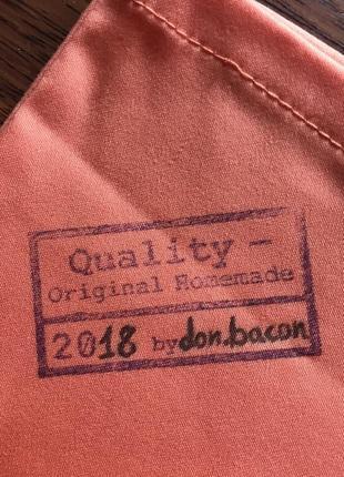 Эко сумка торба шоппер кофе coffee @don.bacon оранжевая3 фото