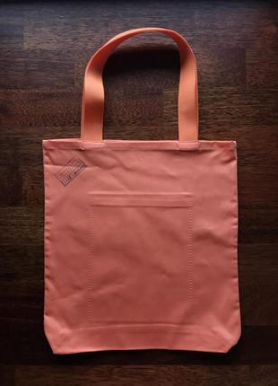 Эко сумка торба шоппер кофе coffee @don.bacon оранжевая5 фото