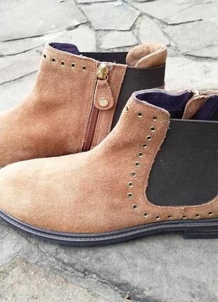 Ботинки рыжие gioseppo