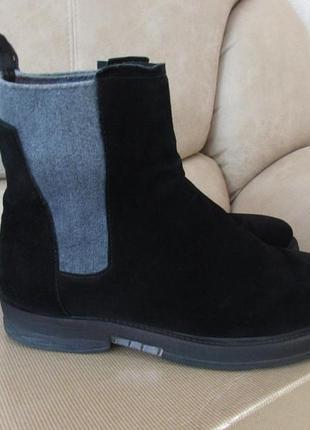 Демисезонные замшевые ботиночки!