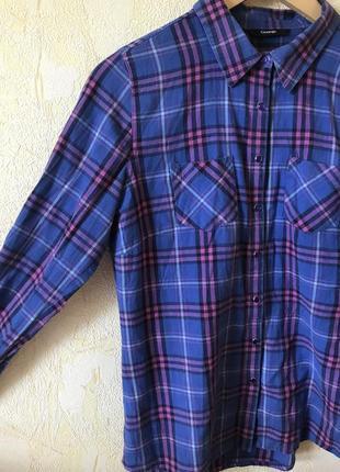 Рубашка в клеточку george