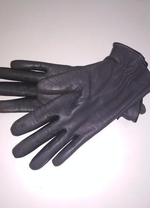 Оригинальные перчатки с мягкой кожи