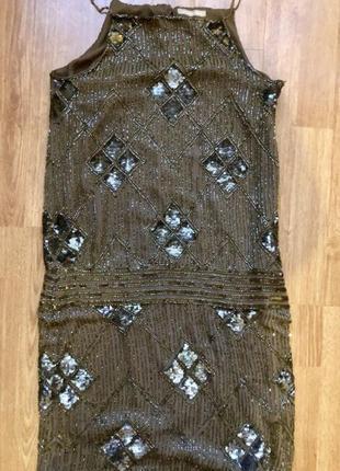 Шикарное платье massimo dutti