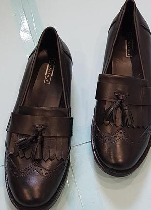 Кожаные туфельки 5th avenue