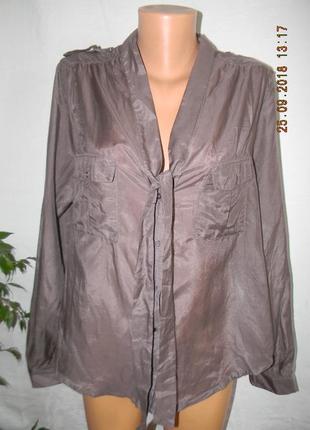 Новая блуза шелк la redoute