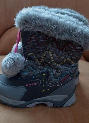 Термо водонепроницаемые сапоги ботинки