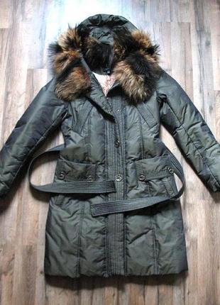 Зимнее пальто, пуховик от тм clasna, р. l