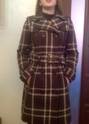 Отличное красивое пальто стильная современная модель