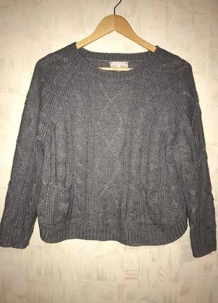 Серый свитер new look
