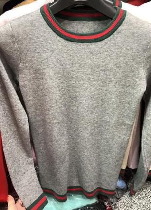 Светрик свитер с полоской