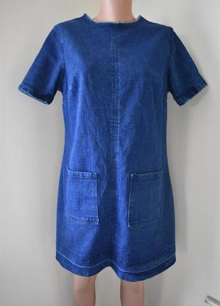 Новое стильное джинсовое платье