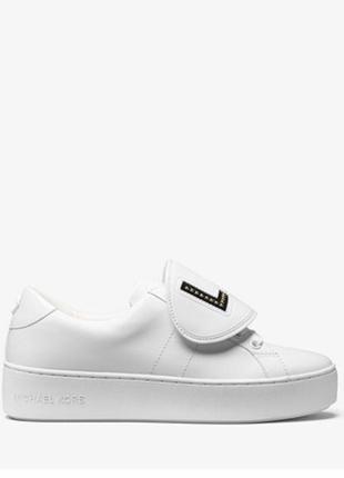 Michael kors кожаные кроссовки