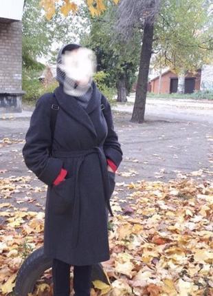 Пальто халат демисезонное
