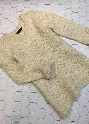 Стильный свитер молочного цвета