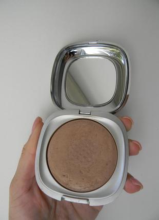 Бронзатор или хайлайтер kiko flawless fusion bronzer powder 04