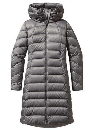 Длинная куртка длинное пальто пуховик длинный серое пальто с капюшоном