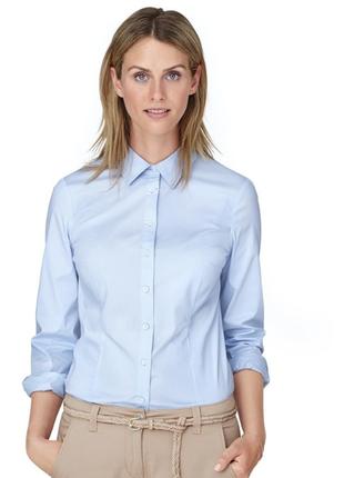 Стильная женская блузка 40р евро tcm tchibo германия смотрите замеры-