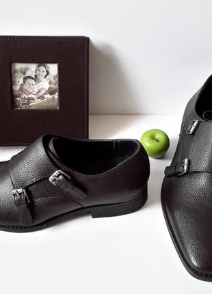 Мужские туфли монки бренда calvin klein. оригинал.размеры 42
