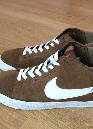 3059aab2 Замшевые кроссовки Nike (Найк), женские 2019 - купить недорого вещи ...