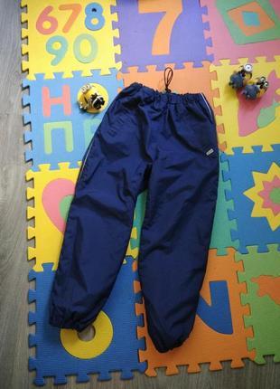 116р демисезонные брюки штаны mikk-line