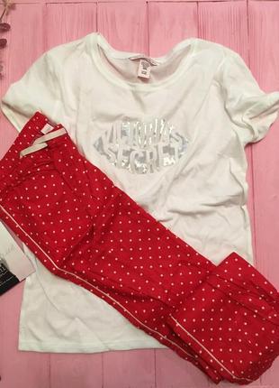 Нежная теплая пижама victorias secret