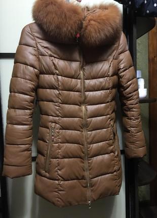 Куртка зимняя, куртка зимова, плащ, плащик, пальто