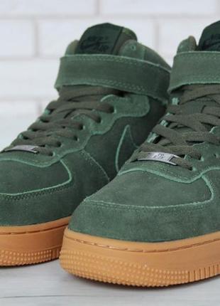 183cc1d6 Кроссовки зимние nike air force 1 high green gum 41-46р. Nike, цена ...
