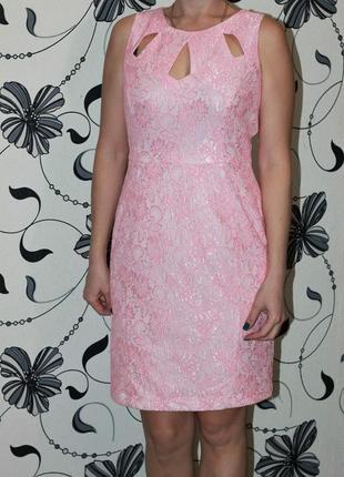 Оно шикарное нежное розовое платье m&co