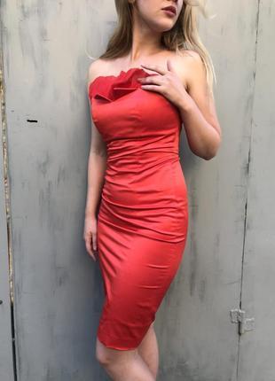 Платье красное натали болгар