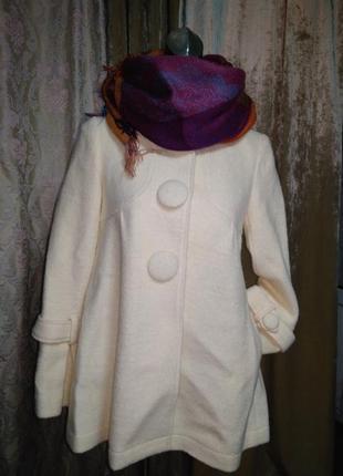 Пальто из кашемира,есть 2 размера