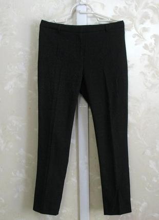 Черные брюки с рисунком betty jackson