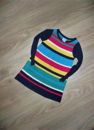 Вязаное платье на 2годика