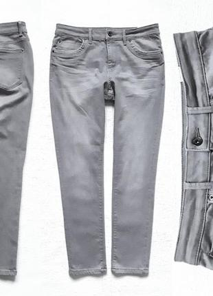 Стрейчевые джинсы с высокой посадкой  indigo от m&s.