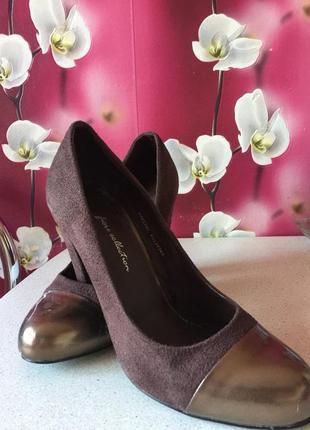 Красивые туфли fiore collection