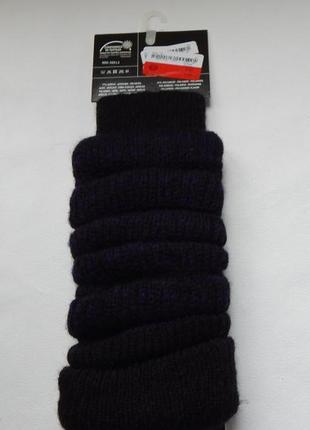Женские гетры yessica черный с фиолетовым