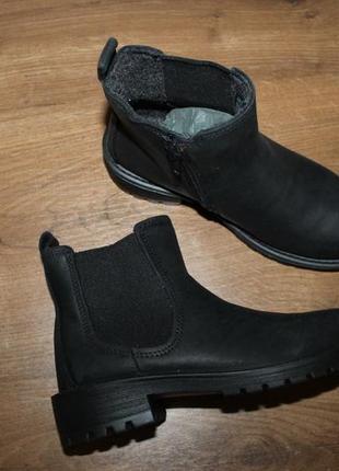 Стильные кожаные ботиночки ecco, 28 и 30 размеры4 фото