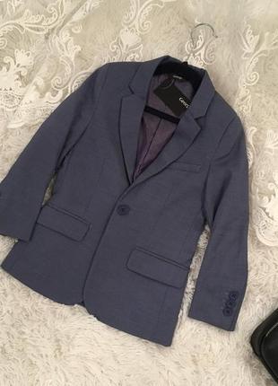 Стильный пиджак george для мальчика 5-7 лет