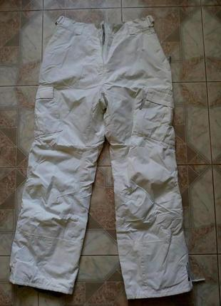 Лыжные белые штаны mountain warehouse