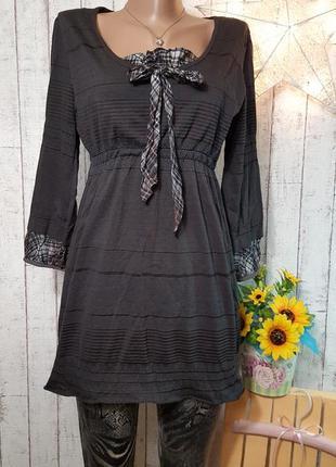 Блуза туника платье р.  м - l свободного кроя можно беременной + лосины в подарок