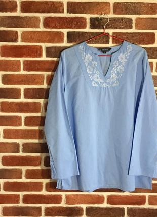 Фирменная рубашка блузка peter storm