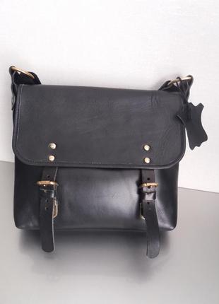 Кожаная сумка 100%натуральная кожа