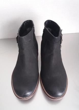 Ботинки из натуральной кожи 100%натуральная кожа