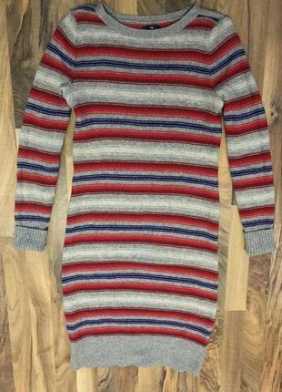 Платье, свитер, туника, кофта, gap, шерсть