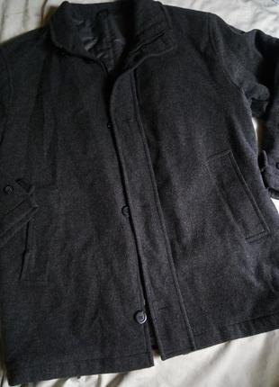 Натуральное зимнее пальто шерсть шерстяное не кошлатится сносу нет таким пальтам